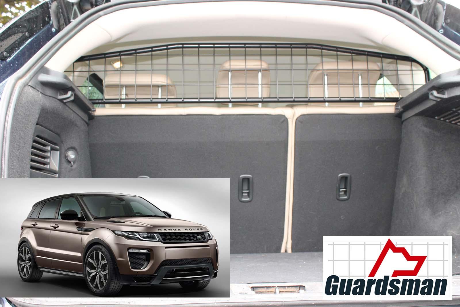 Land Rover Range Rover >> Guardsman - Range Rover Evoque 5 door DOG GUARD (2011-2018)- (Part No. G1419)
