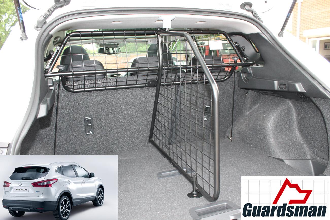 Guardsman Nissan Qashqai 2014 Onwards Dog Guard And